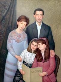 Portrait d´une famille