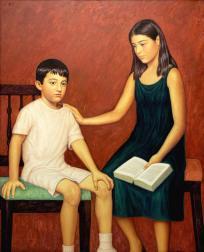 Frère et  sœur (I) ou La leçon