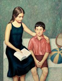 Zwei Geschwister (II) oder Der Ratschlag