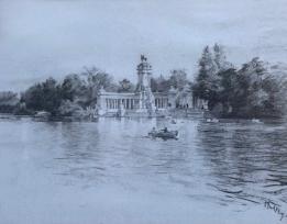 El estanque del Retiro